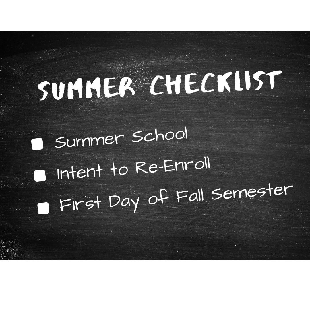 Summer Checklist Flyer