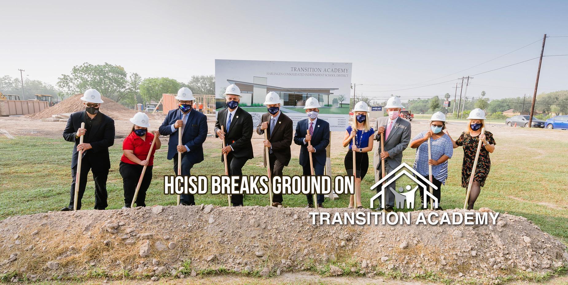 HCISD breaks ground on Transition Academy