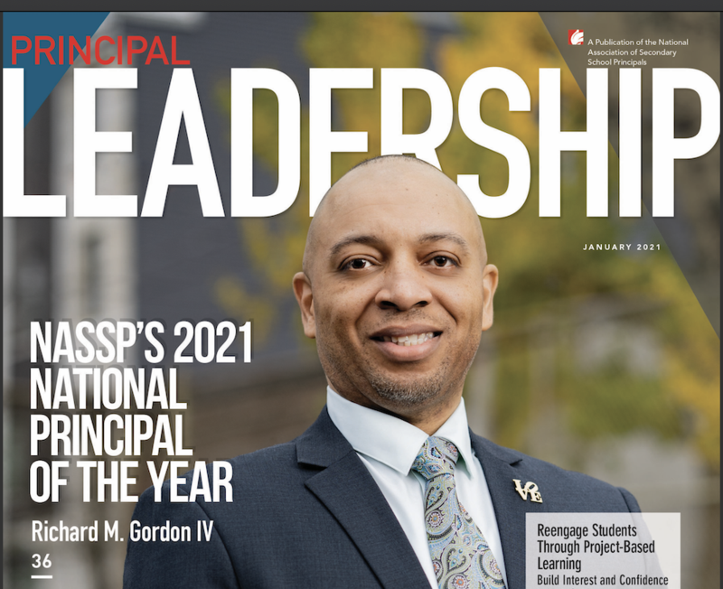 NASSP Journal • Principal Leadership • January 2021 Issue Featured Photo