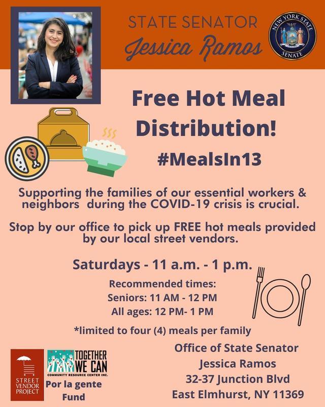 Free Hot Meal Distrubution!