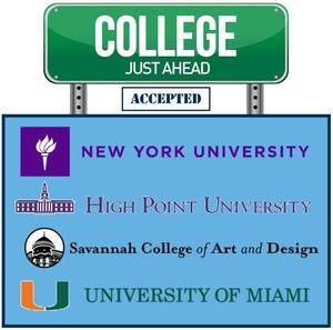 college acceptances
