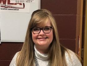 Teacher of the year Danielle Ardle