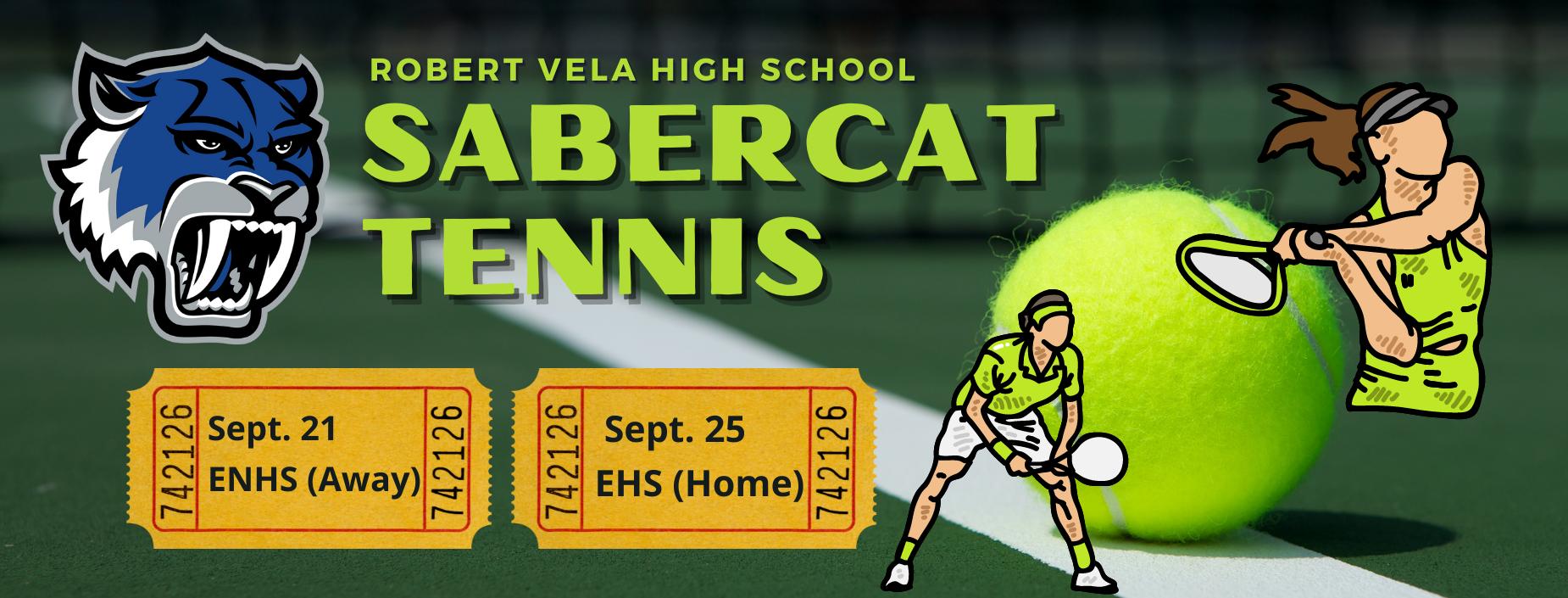 SaberCat Tennis Week
