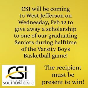 CSI Scholarship Giveaway