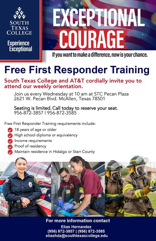 Vanguard Parents...Make a difference and be a part of a free first responder training! Featured Photo