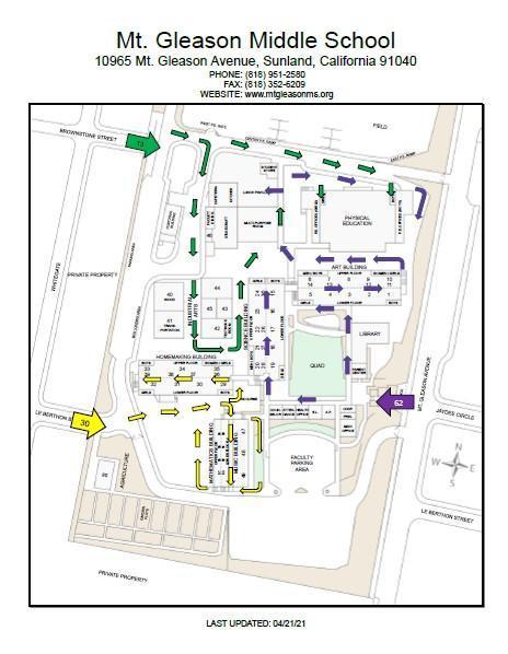 Student Entrance Maps