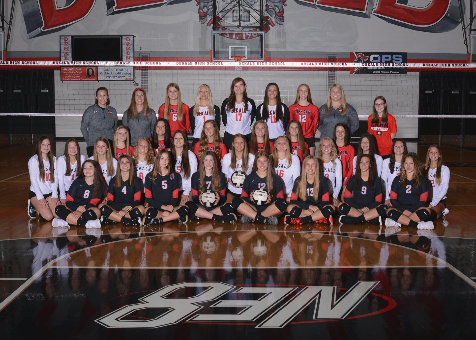 2021-2022 Lady Baron Volleyball