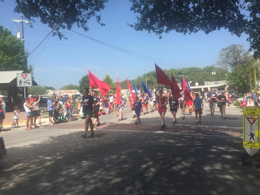 WHS Band in 4th of July Parade