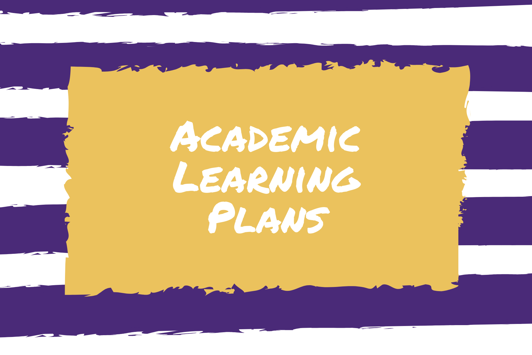 Academic Learning Plan Graphic