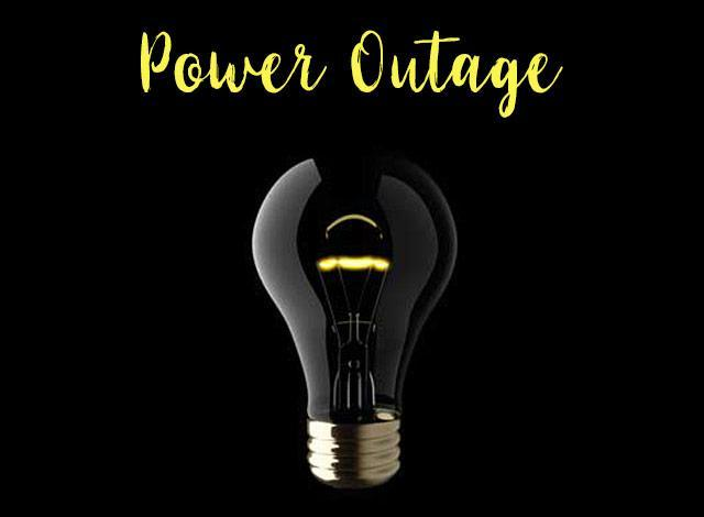 Planned Power Outage - June 24th (approximately 10am-12pm) Featured Photo