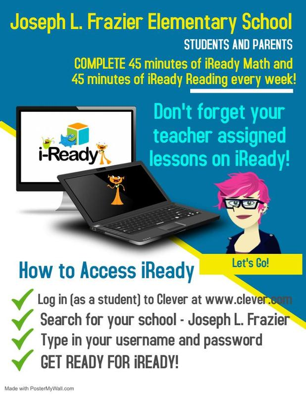 iReady Assignment Reminder
