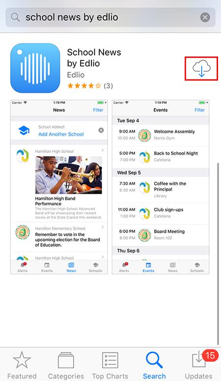 Setup School News App - Features - Edlio Help Center