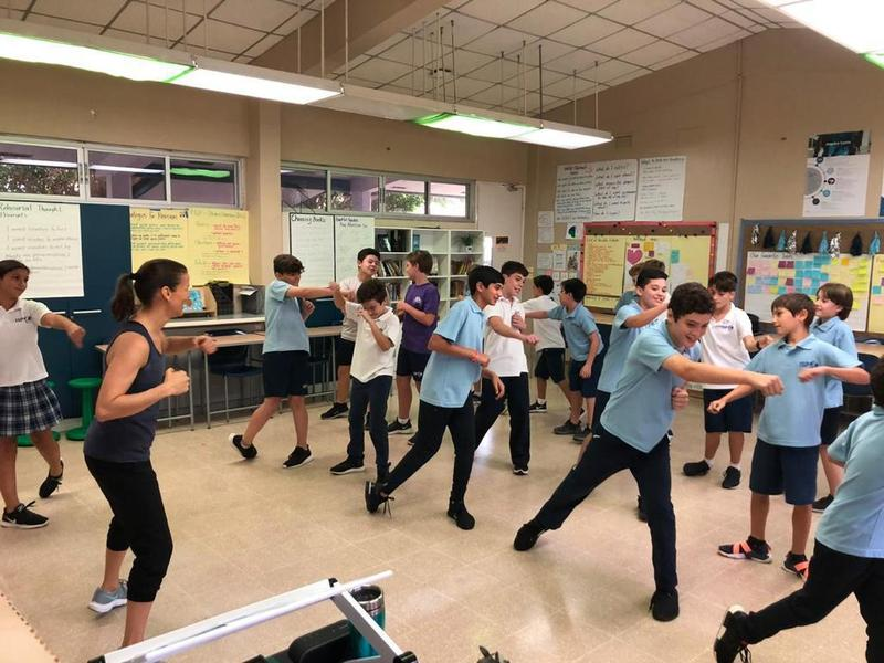 MS Students Follow Passions and Interests during Wellness Week Featured Photo