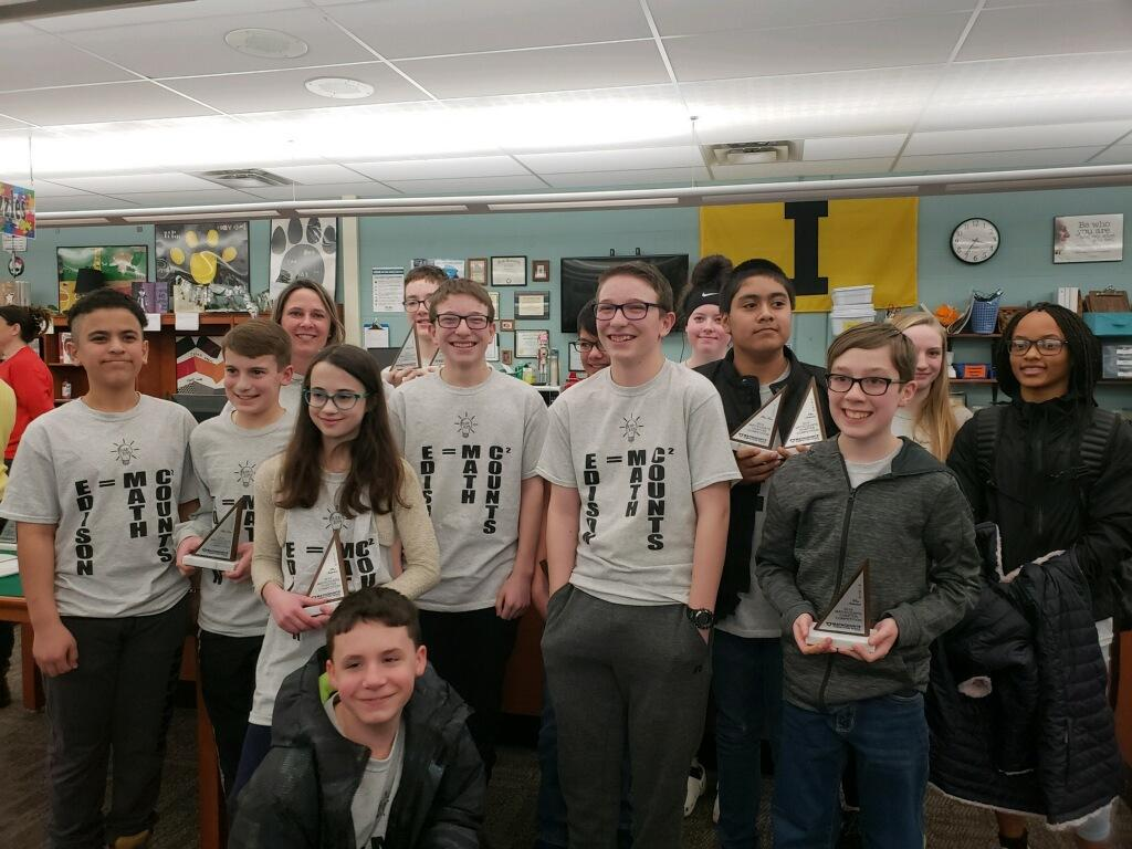 Edison Jr. High MathCounts