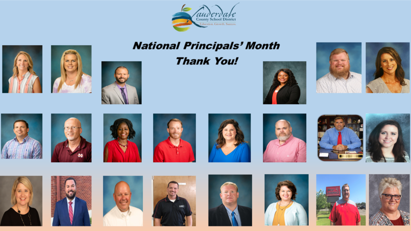National Principals' Month Graphic