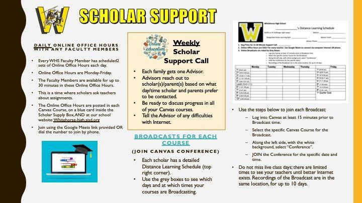 Scholar Support Brochure