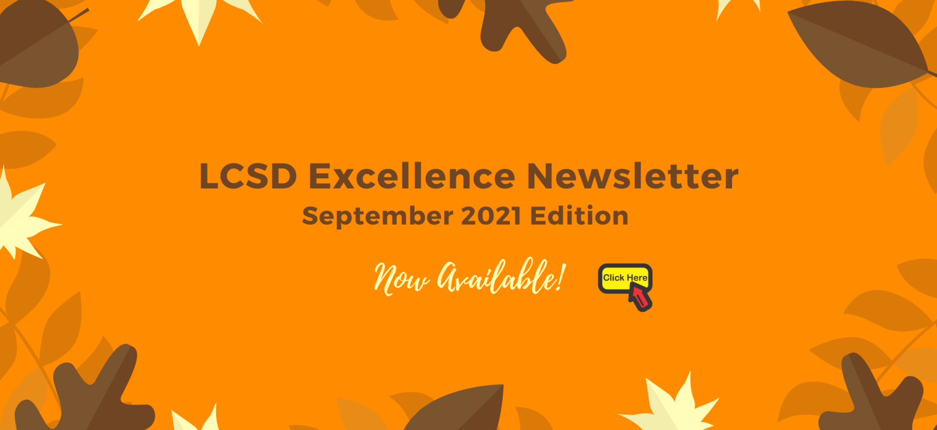 LCSD Excellence Newsletter Graphic
