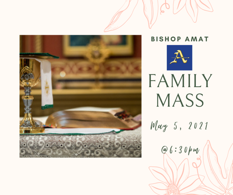 Family Ministries is Hosting a Family Mass Featured Photo