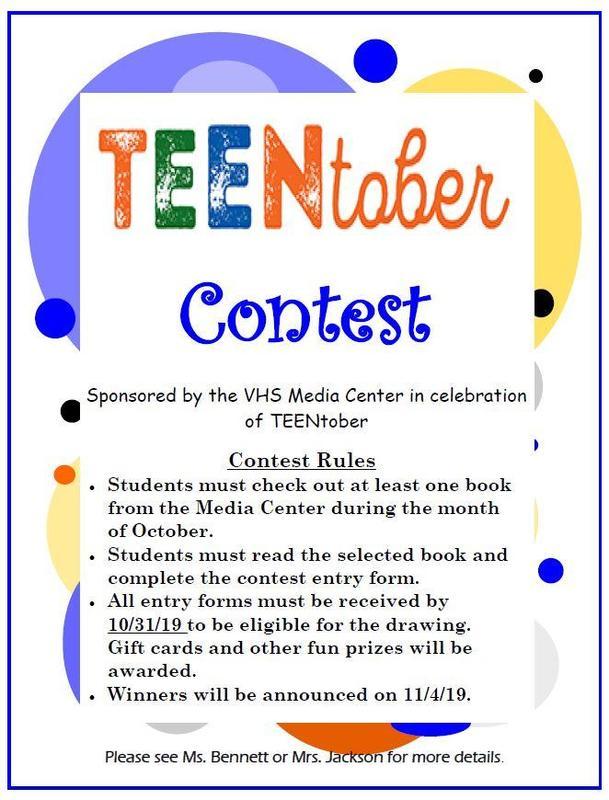 TeenTober Contest 2019