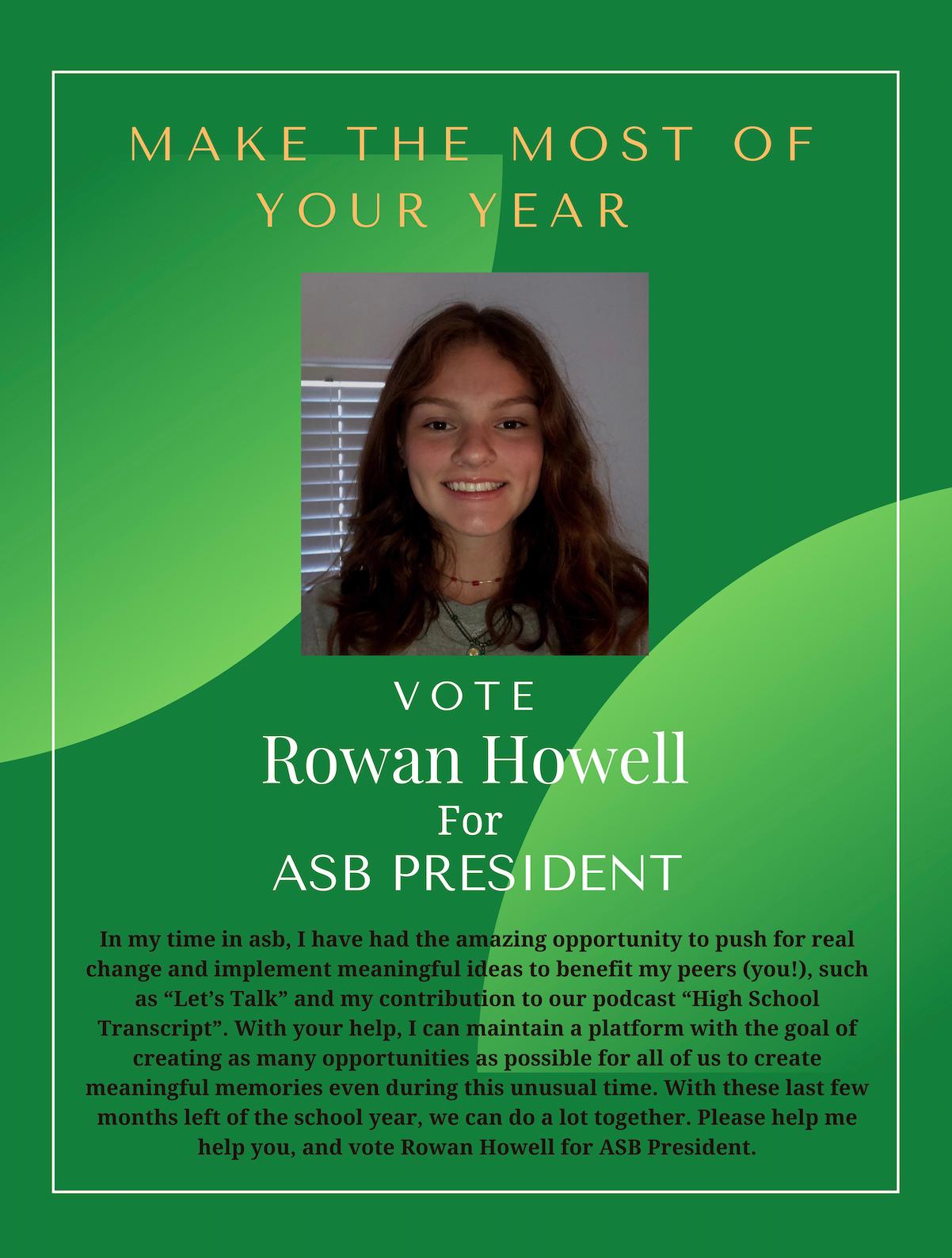 Vote for Rowan