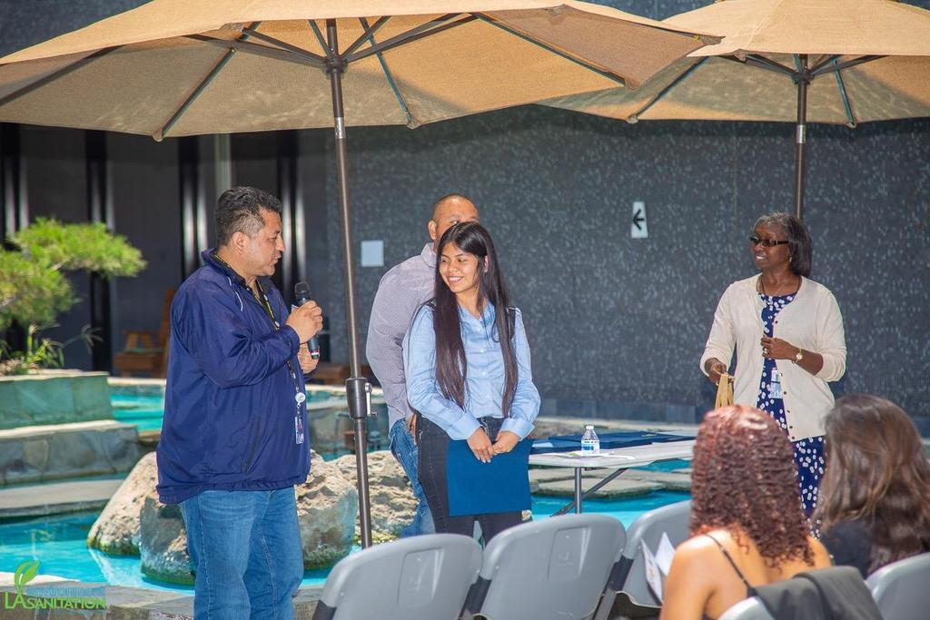 LAHSA Internships - LA Dept of Sanitation SITES