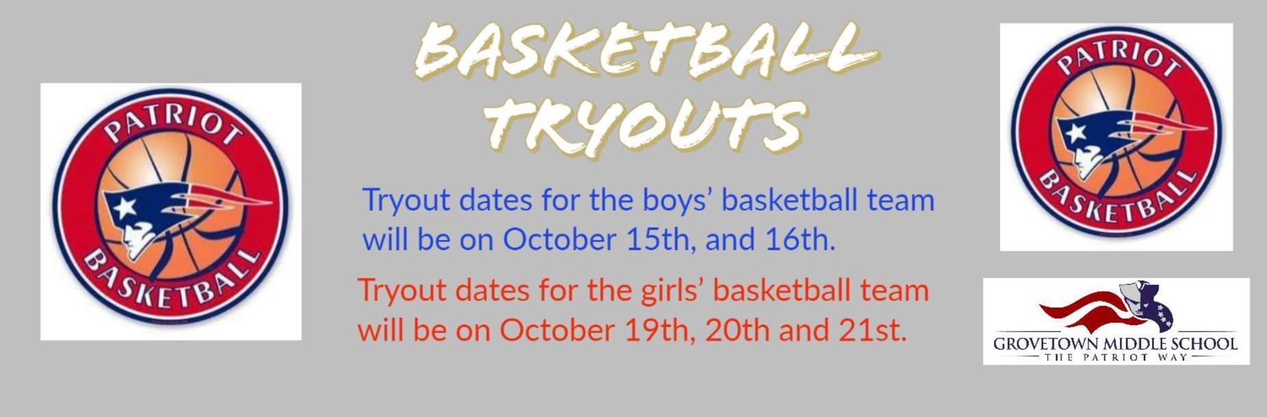 Basketball Tryout