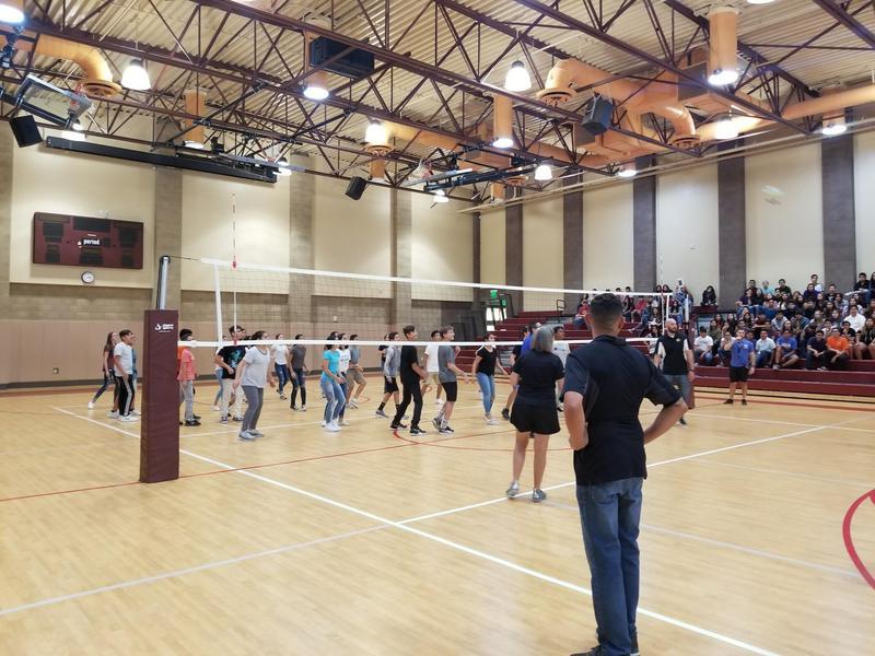7th and 8th Grade Students Hold an SBAC Kick-Off Assembly Thumbnail Image