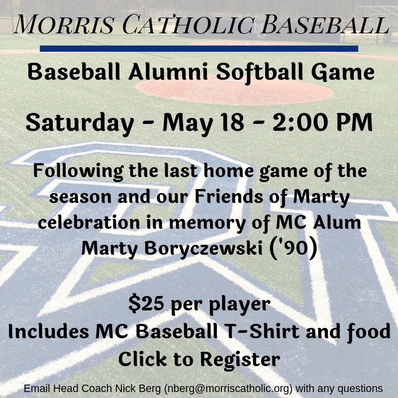 Baseball - Miscellaneous - Morris Catholic High School
