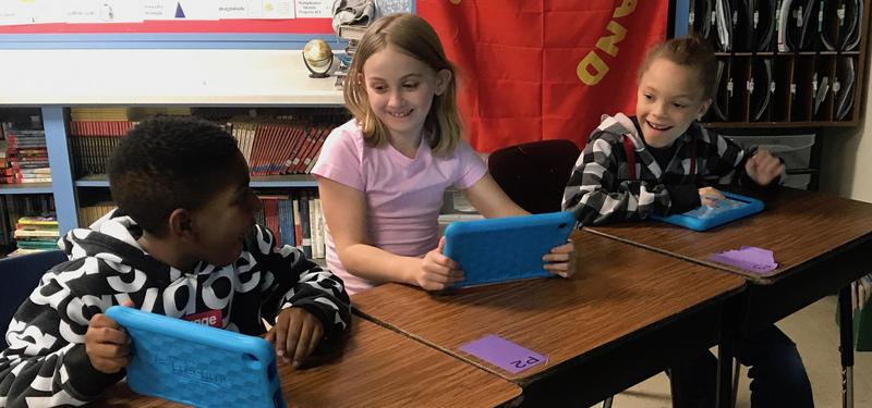 Earl Hanson Third-Graders Learn How to Code Featured Photo