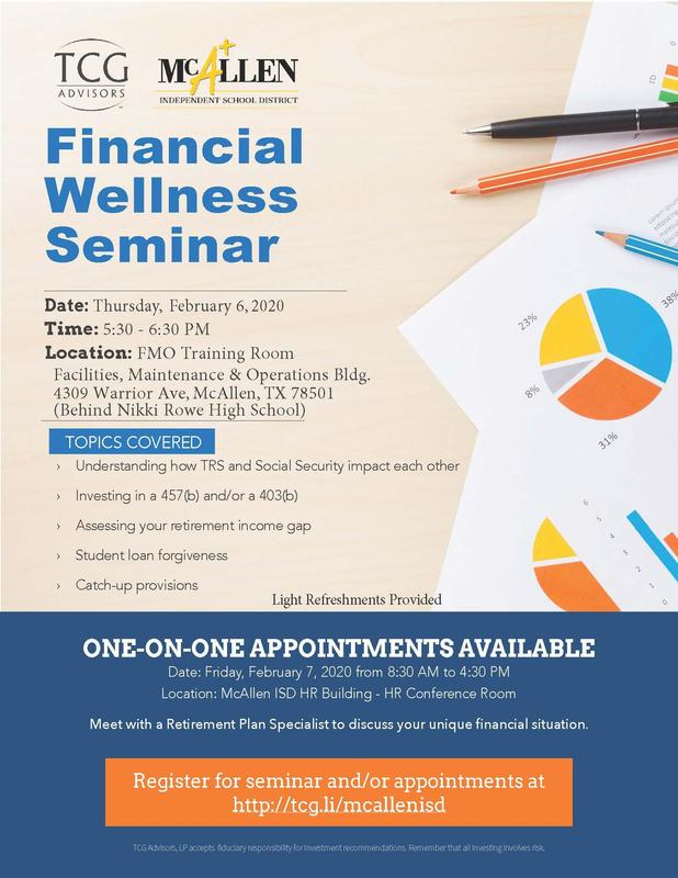 financial wellness flyer page 1