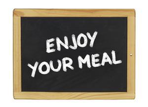 enjoy meal