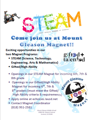 Mount Gleason Magnets
