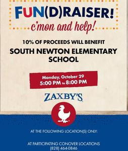Spirit Night on Monday, October 29 from 5pm-7pm