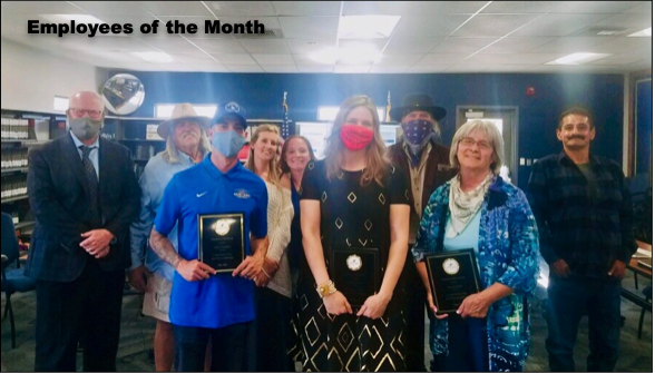 School Board Awards Administrators, Employees of the Month Featured Photo