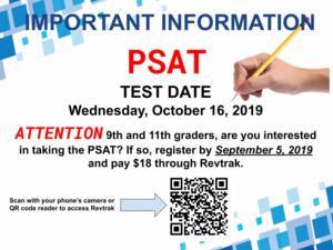 PSAT sign up