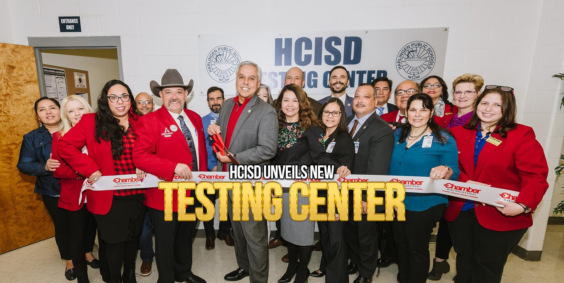 HCISD unveils new testing center