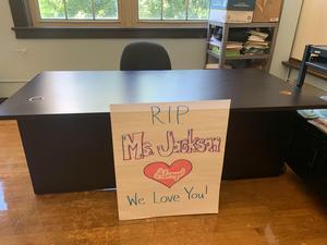 Ms. Jacksons Desk