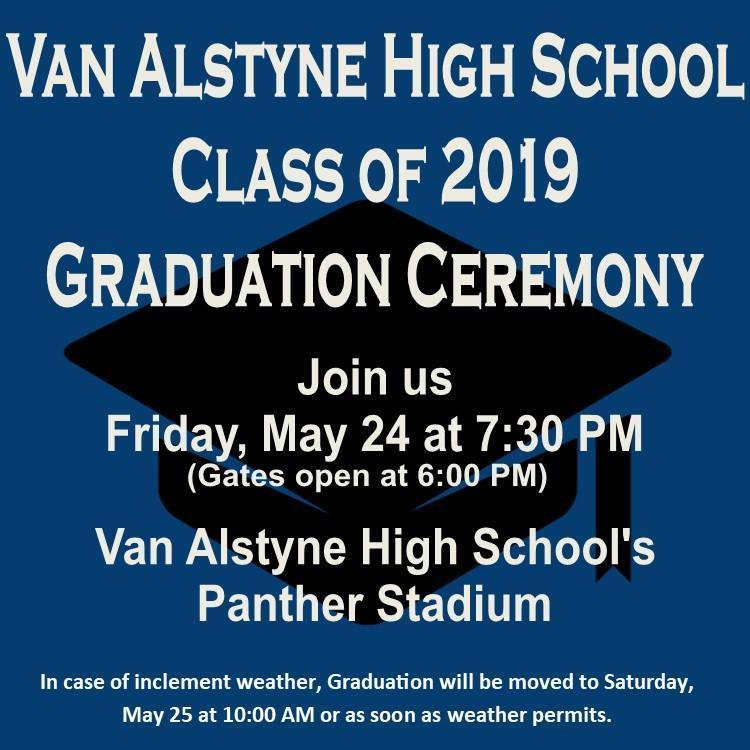 VAHS Graduation 2019 Thumbnail Image