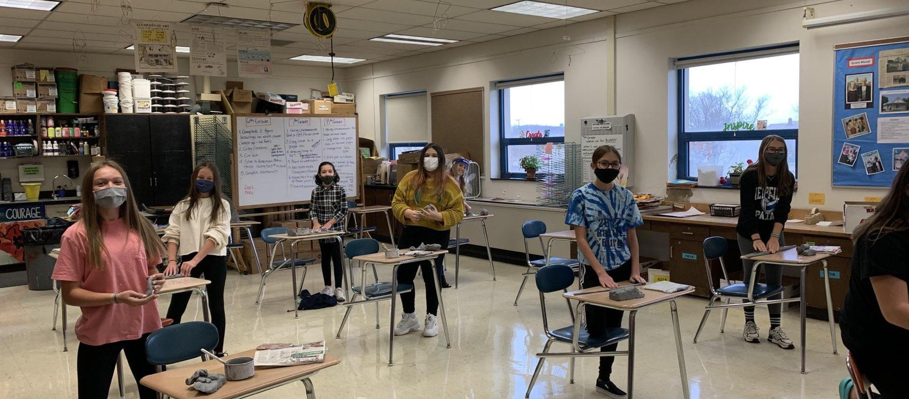 Honors Art Students