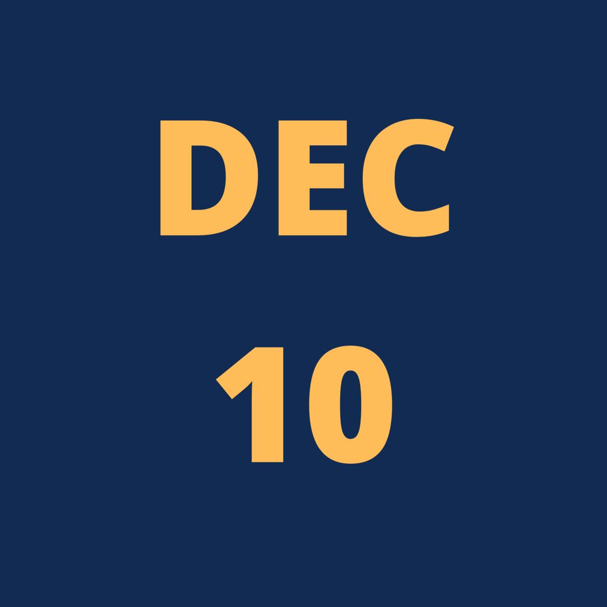 Dec 10 Icon