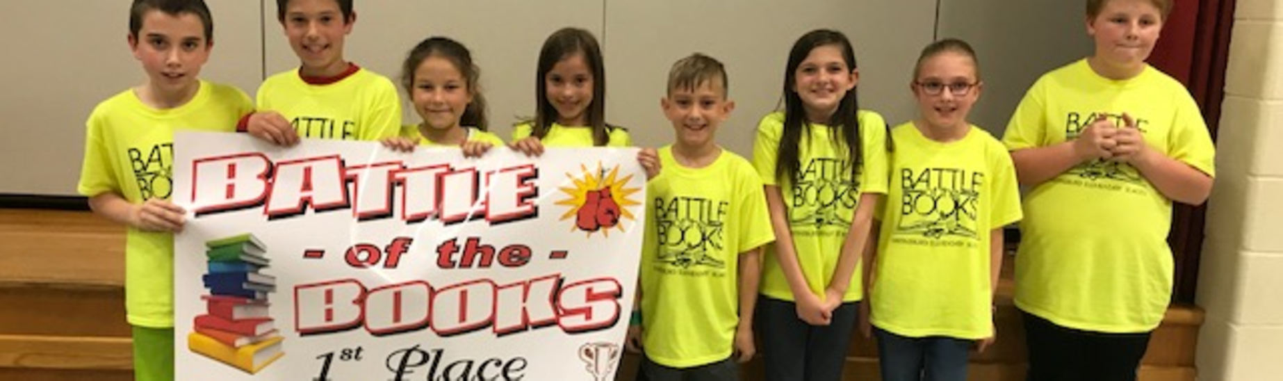 Battle of the Books 1st Place