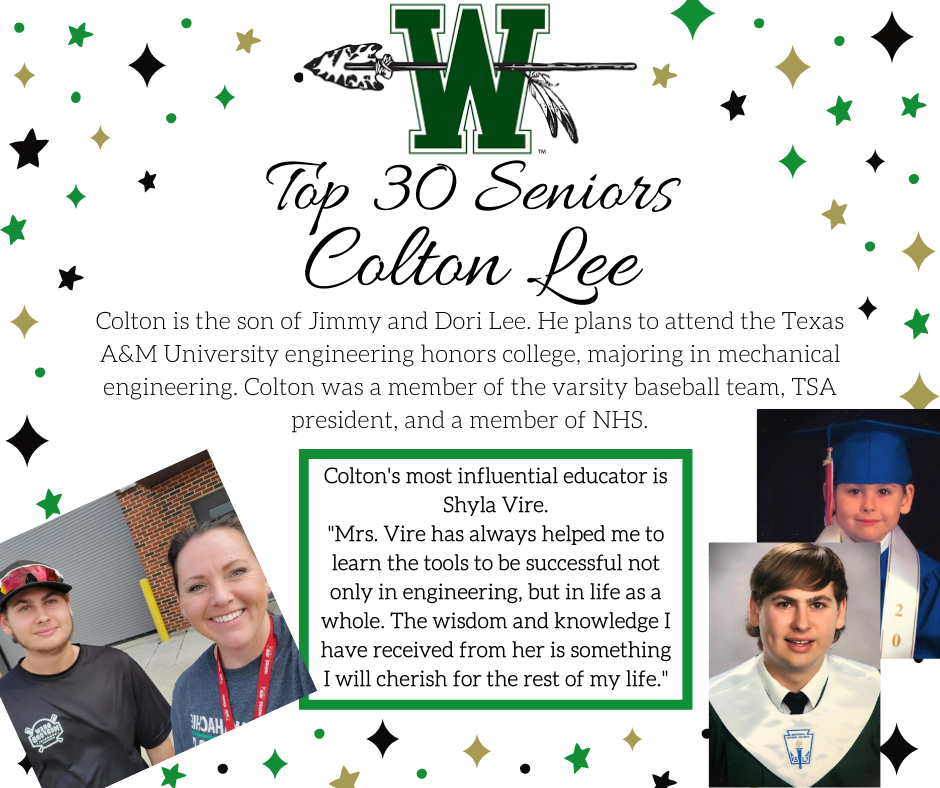 graphic of colton lee