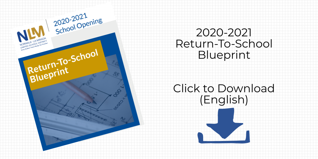 Return to School Blueprint Download