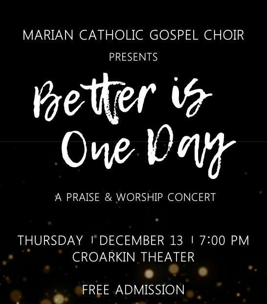 Marian Catholic Gospel Choir Concert Featured Photo