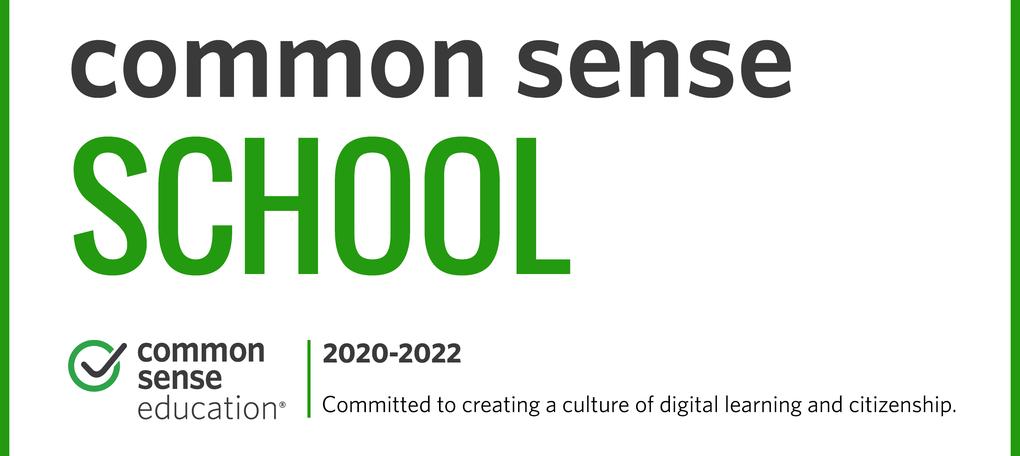 Common Sense Certified School 2020-2022