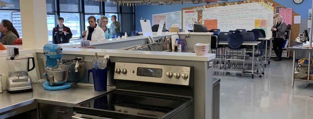 CTE Culinary Arts Classroom Tour