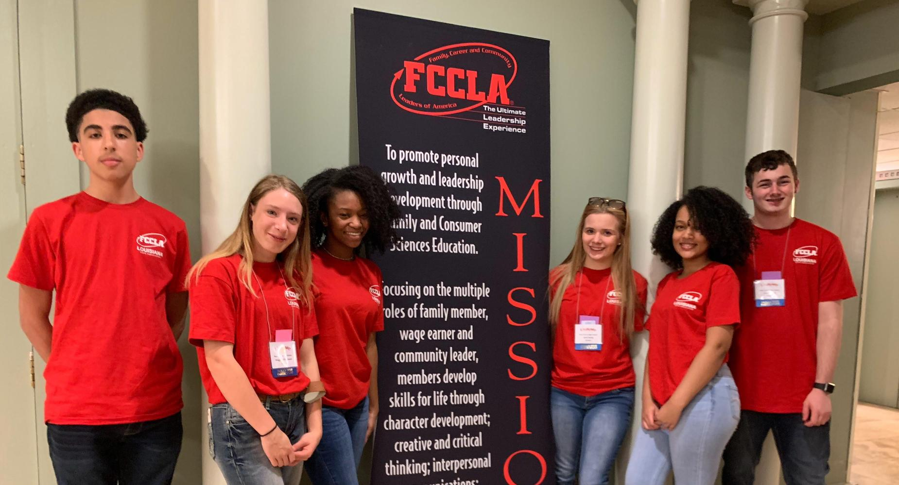 BCHS FCCLA members competed in Early Childhood Education, Parliamentary Procedures, Culinary Arts, Hospitality and Nutrition & Food Sciences along with Leadership Academy and the Opening Session.