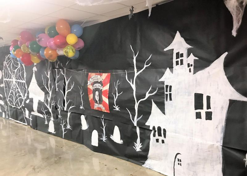 WLHS Haunted Homecoming Decorations