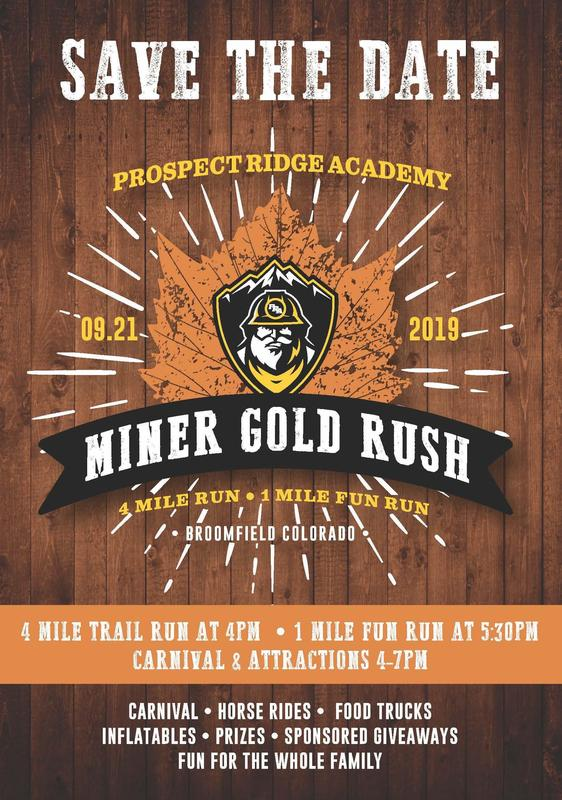 SAVE THE DATE: Miner Gold Rush Thumbnail Image