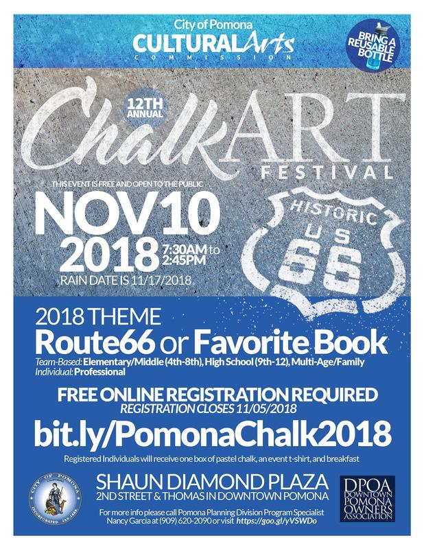 City of Pomona's Cultural Arts Commission